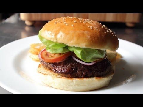 Hamburger Buns - How to Make Homemade Burger Buns - YouTube