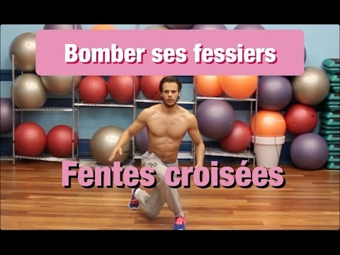 FESSES BOMBÉES : Cibler les FESSIERS avec les FENTES by Bodytime