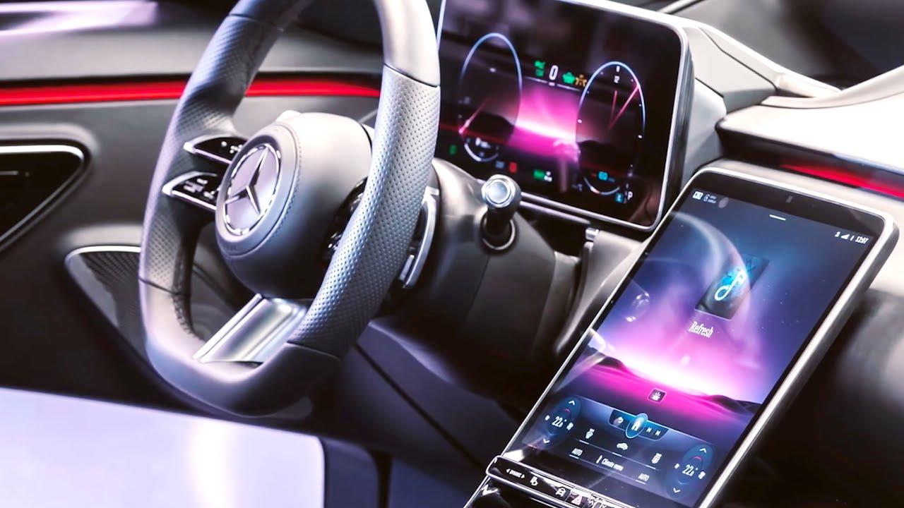 Новый Mercedes S-Class w223 Интерьер, мультимедиа, функции, V12!