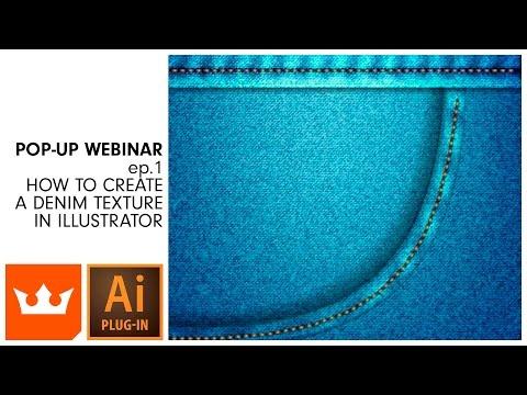 Webinar | ep.1 How to Create a Denim Texture in Illustrator