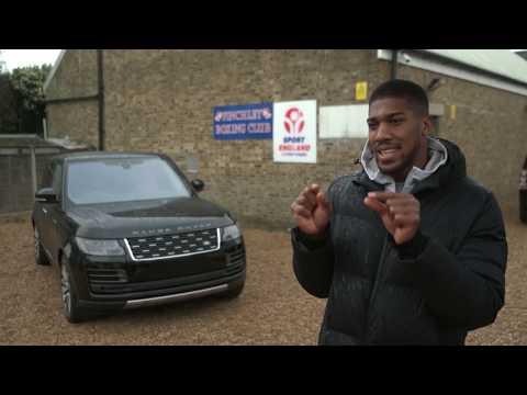 World Heavyweight Champion Anthony Joshua Gets Fight-ready With Bespoke Range Rover SVAutobiography