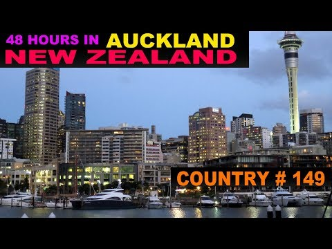 A Tourist's Guide to Auckland, New Zealand