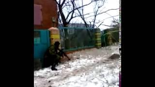 Бой в Дебальцево ополчение пошло в наступление, Донбасс, АТО, Украина