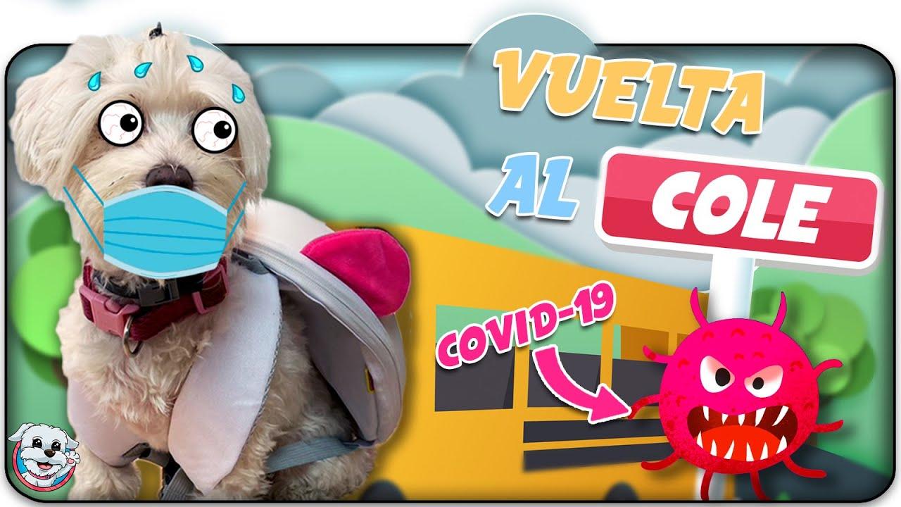 VUELTA al COLE en pleno CORONAVIRUS! 🏫😷 Anima Dogs