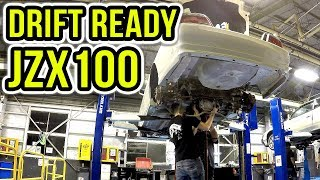 MAKING THE JZX100 CHASER DRIFT READY!