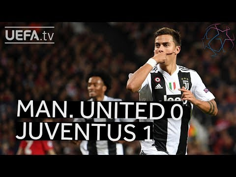 MAN. UNITED 0-1 JUVENTUS #UCL HIGHLIGHTS