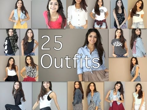 25 Outfits For School Youtube
