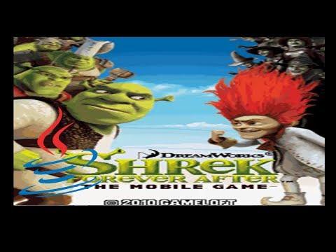 Shrek Forever After - Mobile Java Gameplay
