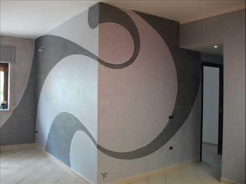 Decorazioni pareti youtube for Decorazioni pareti