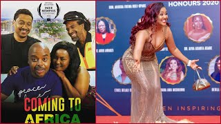 Nana Ama McBrown Appears in HollyWood Latest Movie..