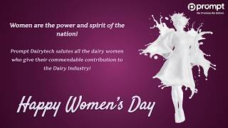 Prompt Dairytech salutes and honors rural women on International Women's Day