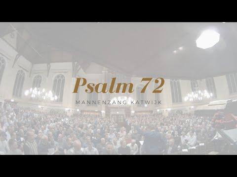 Psalm 72 Vers 2, 6, 10, 11 (met Bovenstem)   Mannenzang Katwijk