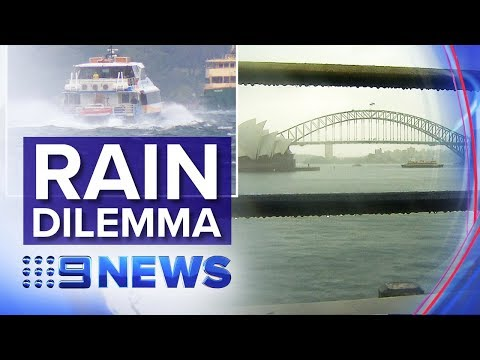 Sydney Receives Downpour But Struggling Regional Areas Left Dry | Nine News Australia
