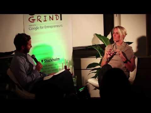 Anna Omstedt Lindgren (Tasteline / MedUniverse) at Startup Grind Stockholm