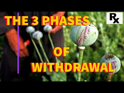 The 3 Phases of Opiate Withdrawals