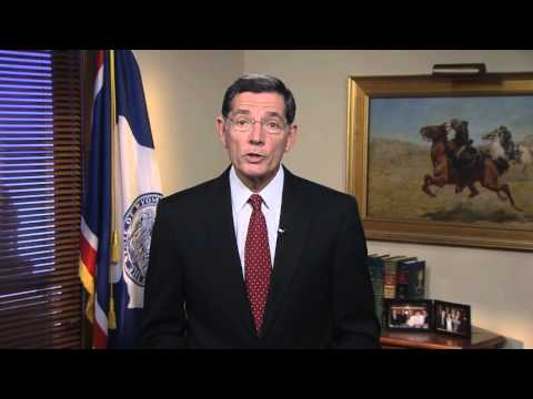 10/3/15 Sen. John Barrasso (R-WY) delivers Weekly GOP Address on excessive federal regulations