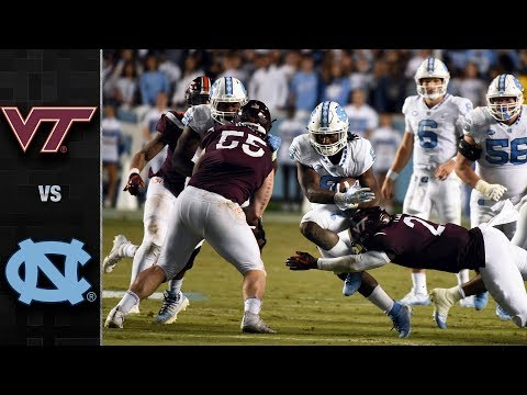 Virginia Tech vs. North Carolina Football Highlights (2018)