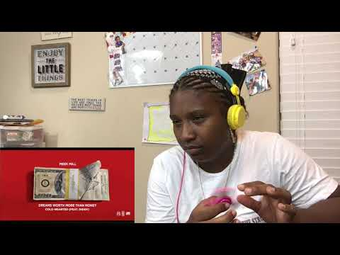 Meek Mill - Cold Hearted (Feat.  Diddy Official Audio) REACTION