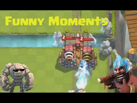 Funny Moments & Glitches & Fails & Wins | Clash Royale Montage #6