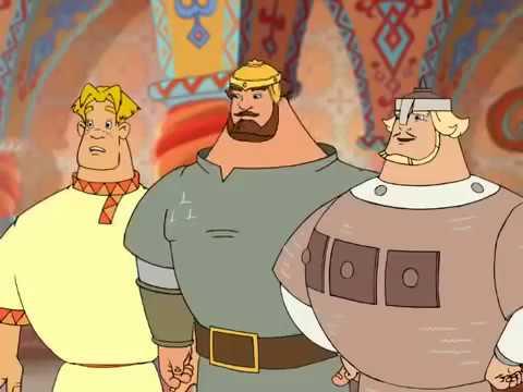 мультфильм три богатыря новая сказка для детей