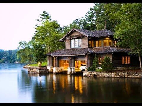 Adorable Lake House Design Ideas