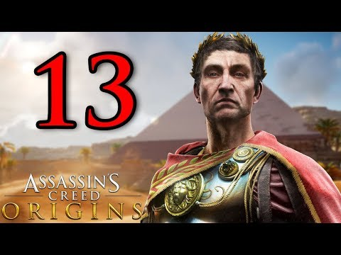 GIULIO CESARE - ASSASSIN'S CREED ORIGINS [Walkthrough Gameplay ITA HD - PARTE 13]