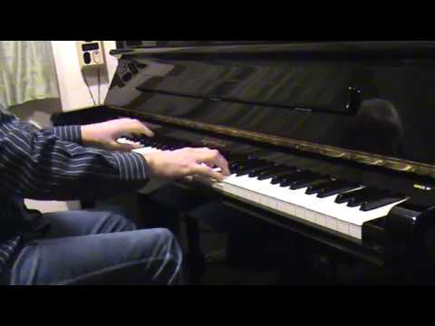 La valse de l'amour (Cinderella), piano