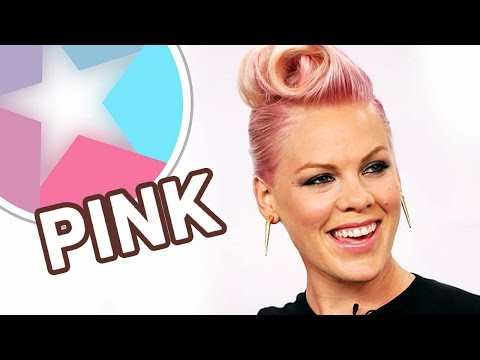 Pink (Alecia Beth Moore) Through The Years in 58 seconds