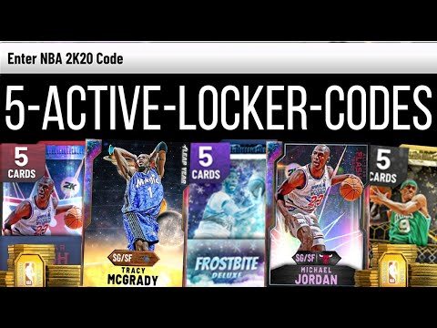 FREE NBA 2K20 Locker Codes for MyTeam *NEVER EXPIRES!* from YouTube · Duration:  1 minutes 35 seconds