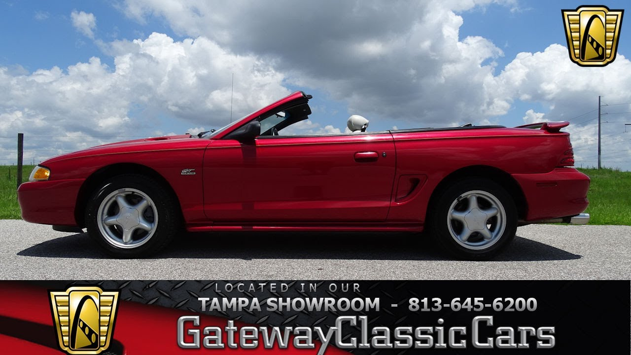 946 tpa 1995 ford mustang gt gts 5 0l v8 fi 5 speed manual with overdrive
