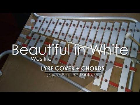 Chords For Beautiful In White Westlife Lyre Cover