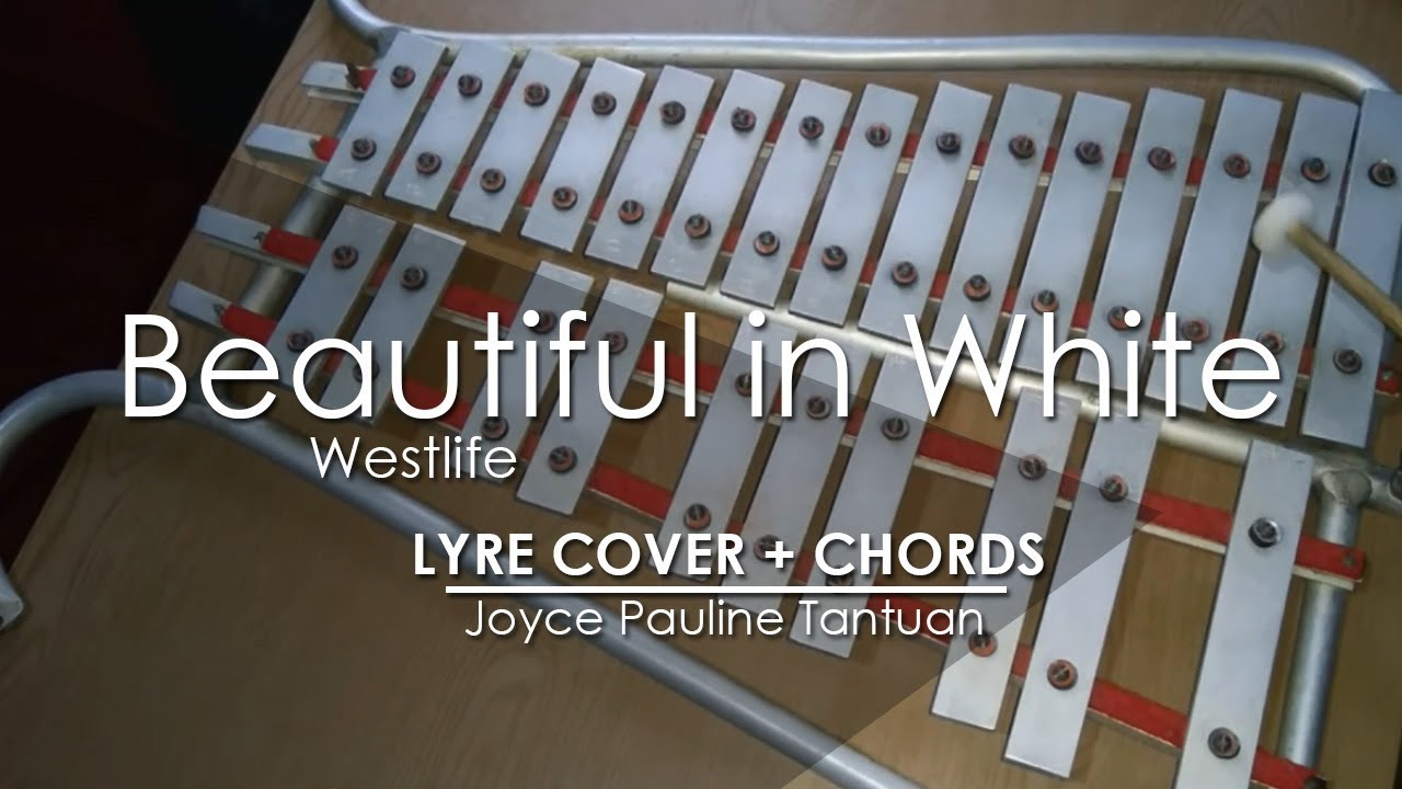 Beautiful In White Westlife Lyre Cover Youtube