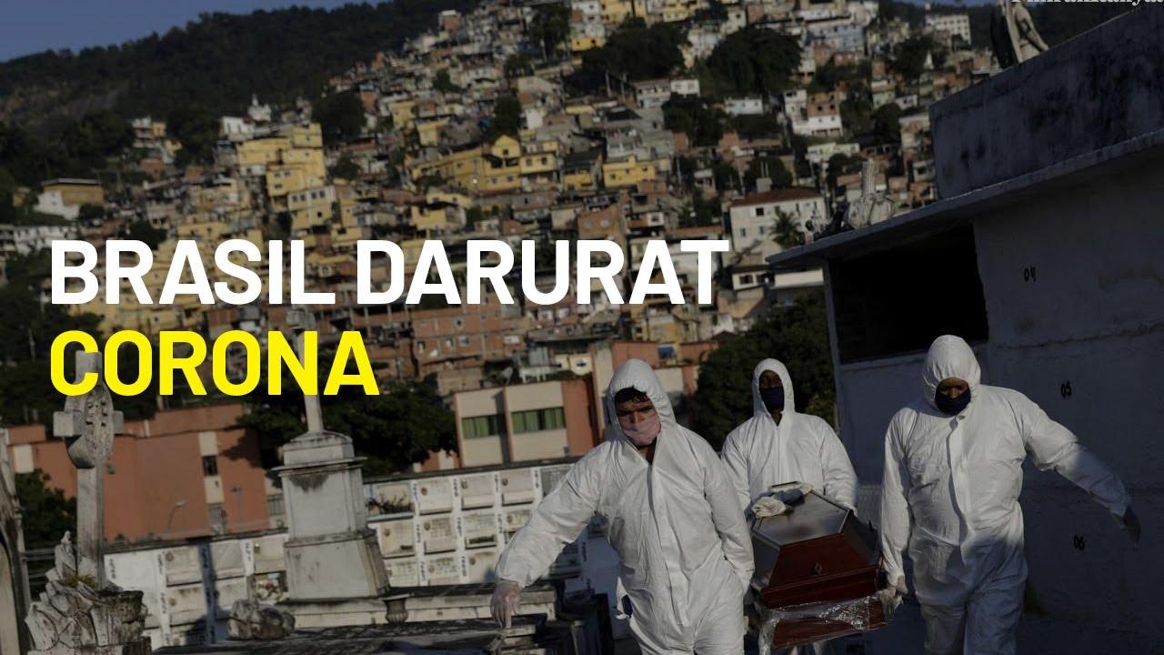 Brasil Tempati Urutan Kedua Jumlah Kasus Virus Corona di Dunia - Pikiran Rakyat