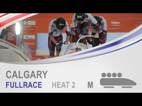 Calgary | 4-Man Bobsleigh Heat 2 World Cup Tour 2014/2015 | FIBT Official