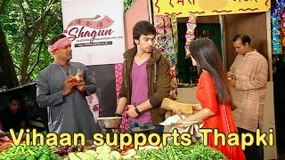 Bihaan supports Thapki - From the sets of Thapki Pyar Ki