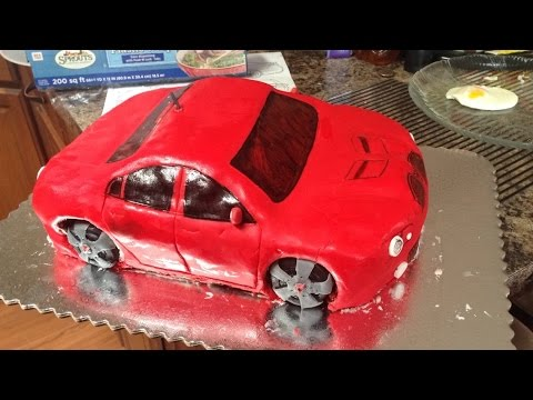 Vlog My First 3d Car Cake Red Velvet Pontiac G8 Savvysweets