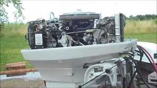1973 Johnson 50hp Outboard (Beautifully Restored)