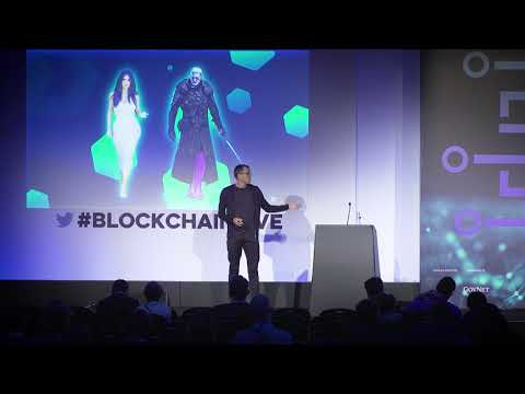 DMarket.io pitch at Blockchain Live in London [EN]
