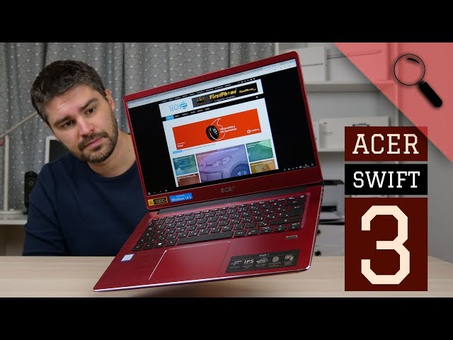 Acer Swift 3 teszt   STÍLUS és elegancia?