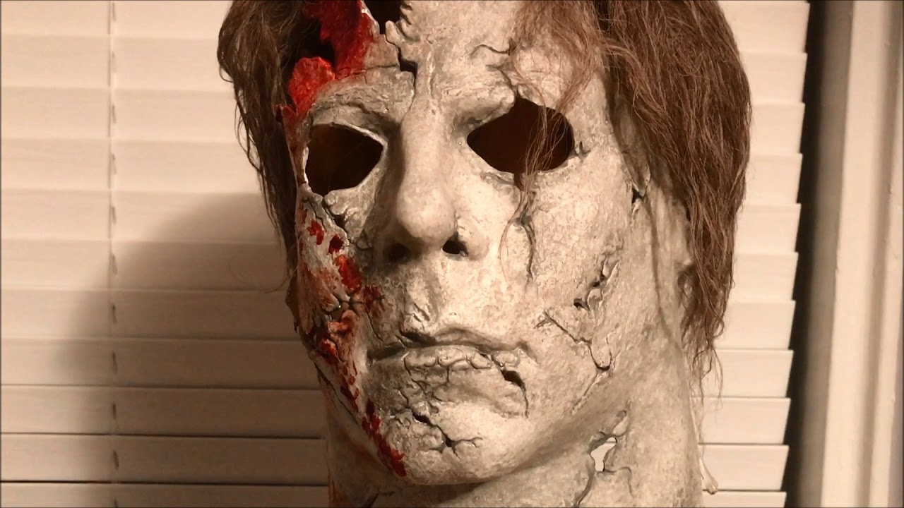 Halloween 2 Rob Zombie Mask.Halloween 2 Rob Zombie Destroyer Hospital Myers Mask Unboxing And Review