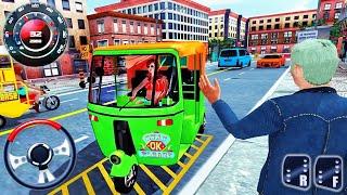 Tuk Tuk Chingchi Driving Simulator - City Rickshaw Driver Parking - Android GamePlay screenshot 5