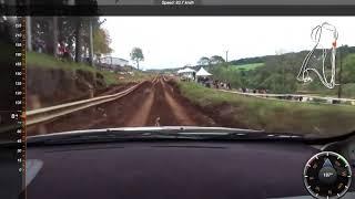 REVIEW 2017   Onboard com telemetria Super Prime sábado   Malucelli Bordin   Rally de Erechim 2017