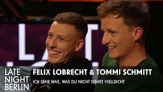 Felix Lobrecht & Tommi Schmitt sehen was, was Klaas nicht sieht - Vielleicht | Late Night Berlin