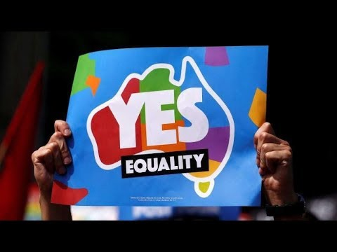 australia say yes to gay marriage