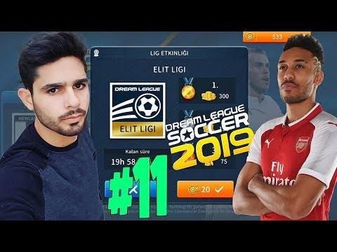 Etkinlik Elit ligi, Kurtarıcı Aubameyang, Doğan Yıldızlar Bölüm 11 Dream League Soccer 2019