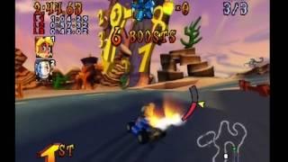 Crash Nitro Kart PS2 Norm Boss Race Gameplay
