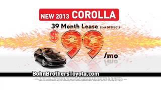 Corolla, Tundra- Bohn Brothers Toyota