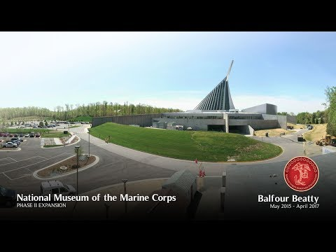 National Museum of the Marine Corps Expansion Time-Lapse