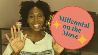 Young Black Millennial on The Move