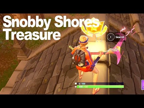 Follow The Treasure Map Found In Snobby Shores – Fortnite Season 5 Challenge Location Guide